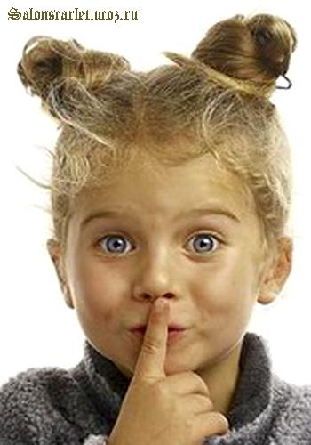 прически детские для девочек фото - фотография 1.